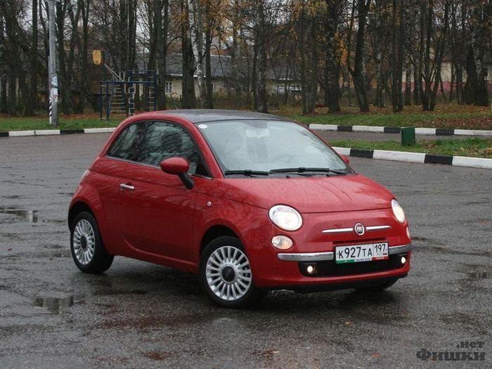 Тест-драйв воскрешенного итальянца – Fiat 500 (34 фото)