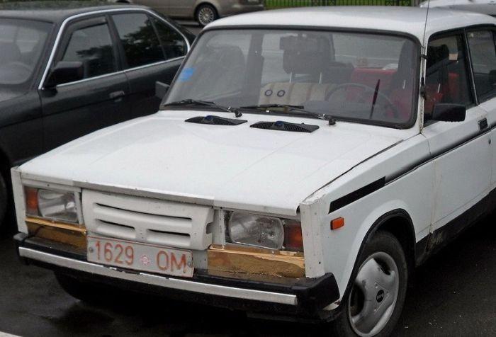 Тюнинг автомобиля по-белорусски (25 фото)