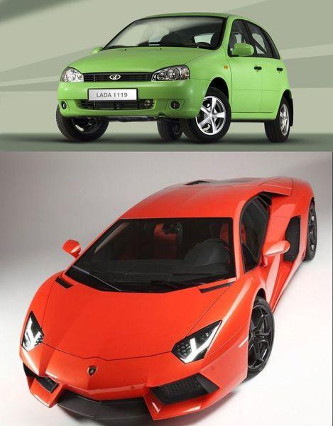 В Германии Калина сравнялась по продажам с Lamborghini Aventador (текст)