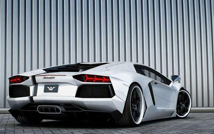 Lamborghini Aventador преобразили в ателье Wheelsandmore (3 фото)