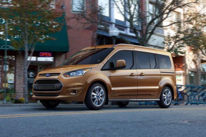 Transit Connect Wagon - новый минивен от компании Ford (11 фото)
