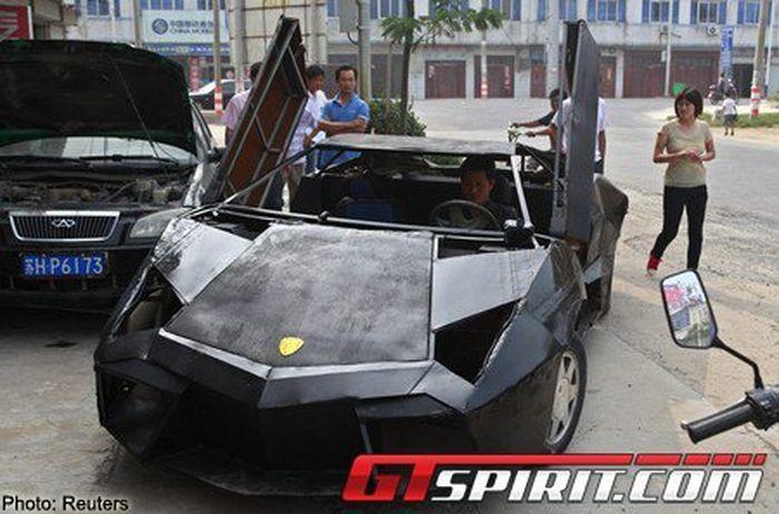 Самодельный  Lamborghini Reventon из Китая (11 фото+видео)