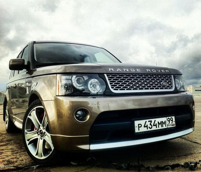 Тест-драйв Range Rover Sport Supercharged - мощный Англичанин (38 фото)