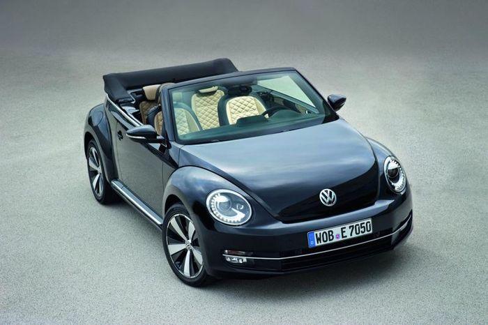 VW Beetle Cabriolet обзавелся комплектацией Exclusive (3 фото)