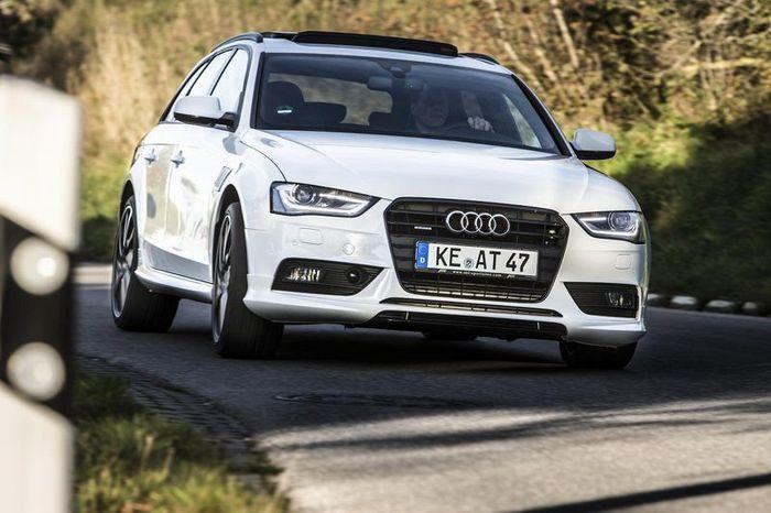В ателье ABT прокачали Audi A4 (9 фото)