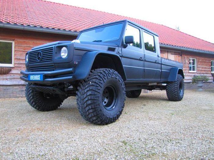 Найдено на Ebay. Mercedes-Benz G500 XXL (15 фото)