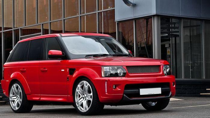 Range Rover Sport 3.0 HSE SDV6 от ателье Kahn Design (5 фото)