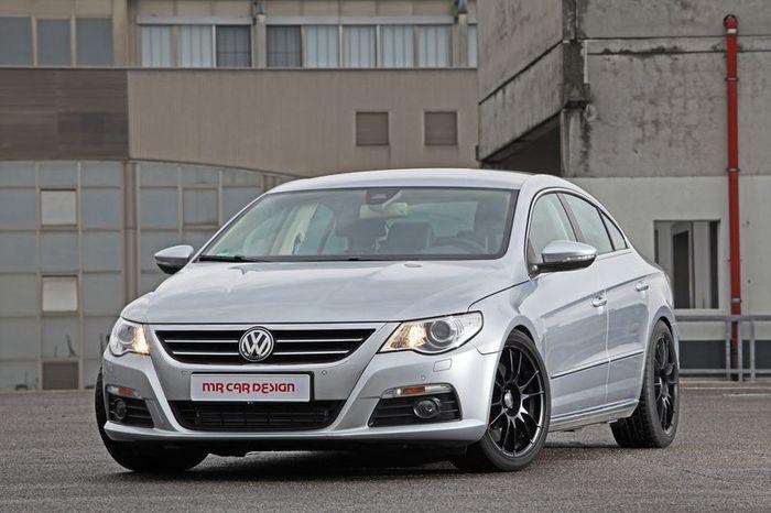 Специалисты из MR Car Design взбодрили VW Passat CC (10 фото)