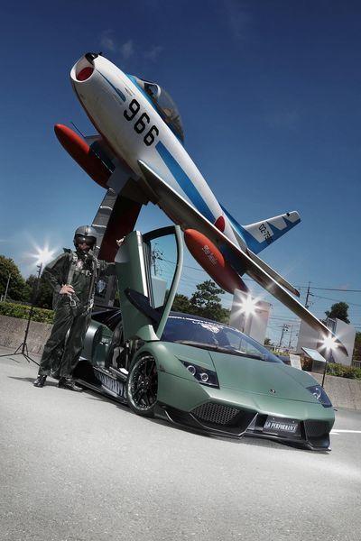 Lamborghini Murcielago в стиле милитари от тюнеров из LB Performance (26 фото)