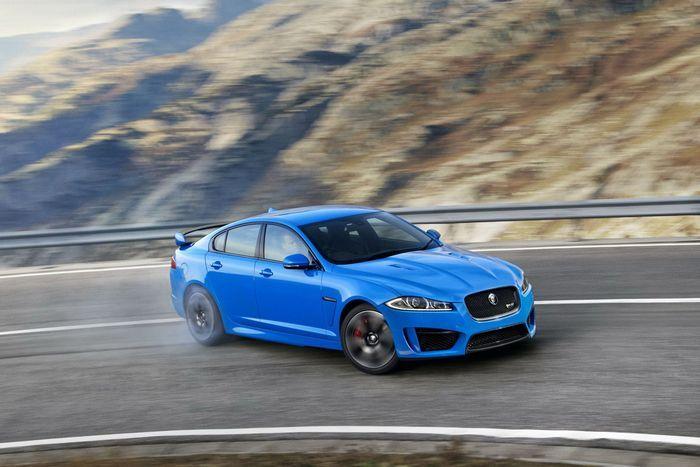 Jaguar  XFR-S - самый мощный и быстрый в истории компании (18 фото)