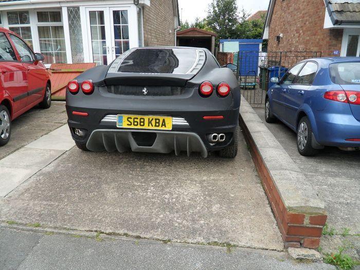 Найдено на Ebay. Ferrari F430 из Peugeot 406 (12 фото)