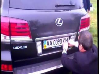 ДТП автомобиля кабинета министров в Украине