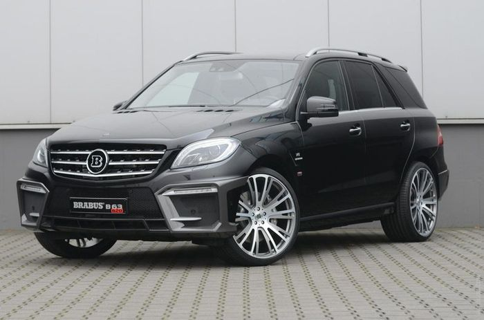 brabus, mercedes-benz ml 63 amg