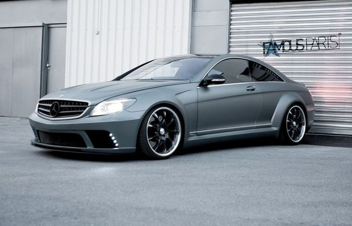 famous parts, mercedes-benz cl63 amg