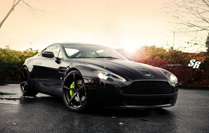 sr auto group, aston martin vantage, project kro