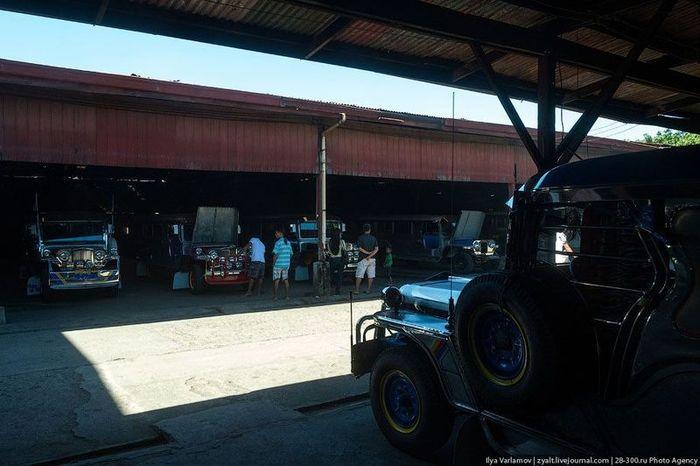 джипни, производство автомобиля