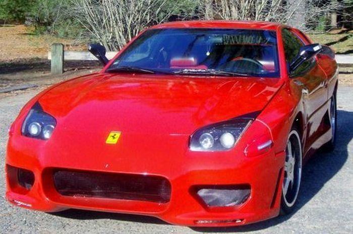 найдено на ebay,   продажа авто, самоделкин, mitsubishi 3000gt, ferrari f430