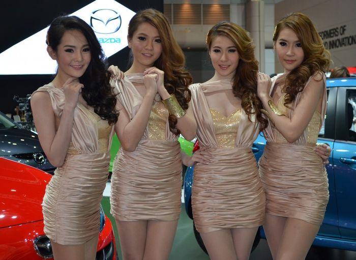 thailand international, motor expo 2012, девушки и авто, автошоу, тюнинг-шоу