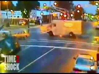 Подборка аварий на видеорегистратор