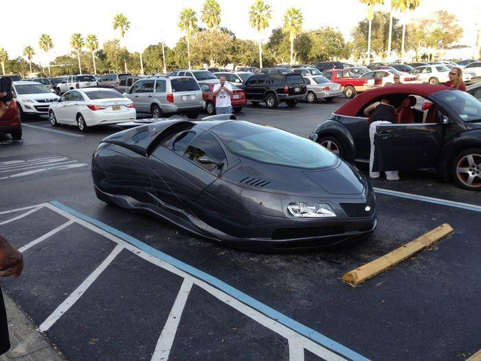 необычный авто