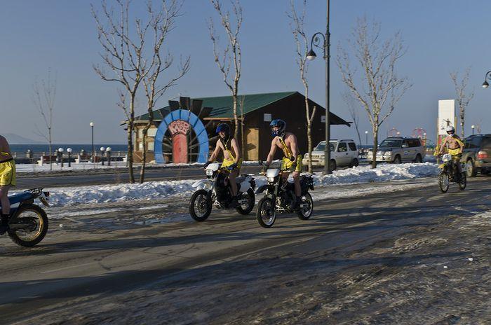 мудозвон, мудозвон 2012, голый на мотоцикле, мотопробег