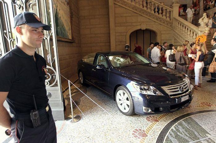 авто монарха, монарх, машина правительства