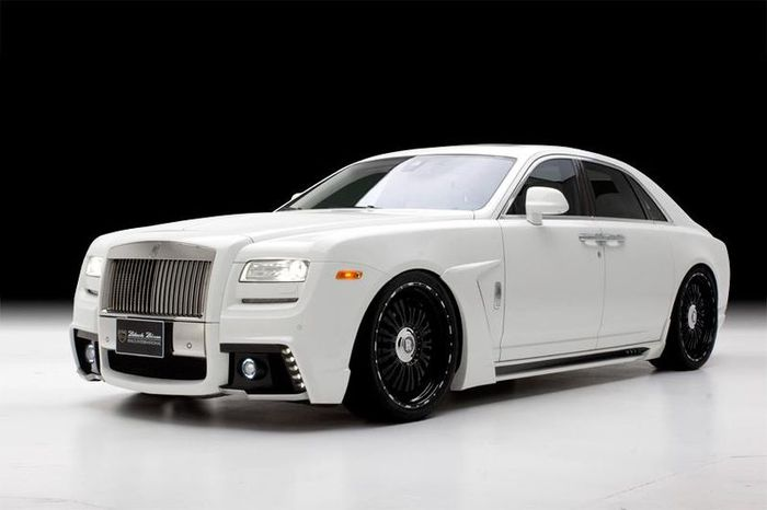 wald international, black bison, rolls-royce ghost