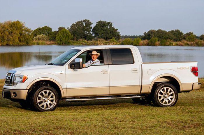 джордж буш, автоаукцион, ford f-150, машина знаменитости