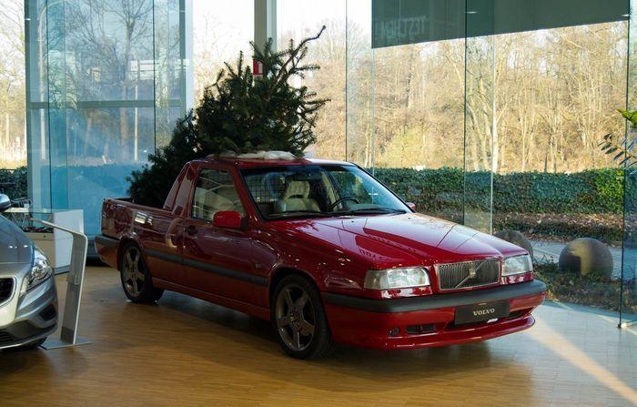 volvo 850 t-5r, volvo, новогоднее украшение