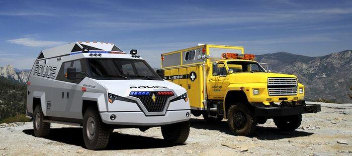 carbon motors, tx7 multi mission vehicle