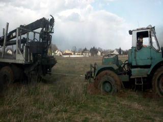 Т-150к против КрАЗа