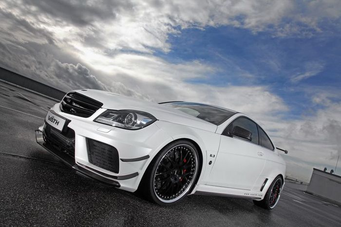 mercedes-benz c63 amg, coupe, vath