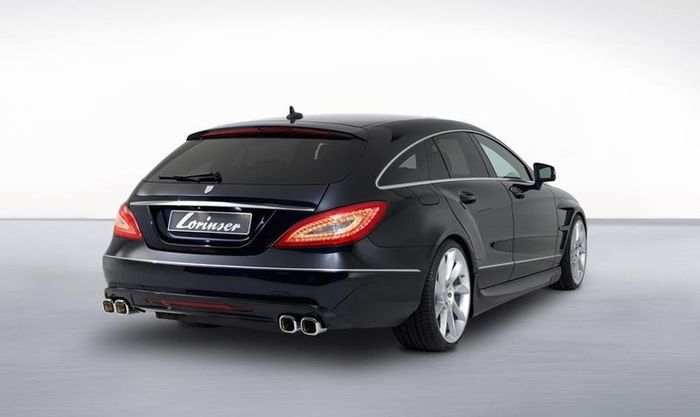 mercedes-benz cls, shooting brake, lorinser
