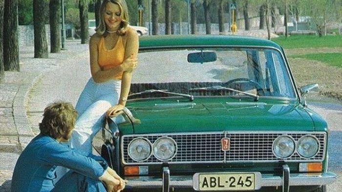 ссср, машина в ссср, советский союз, автореклама