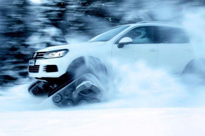 volkswagen touareg, snowareg