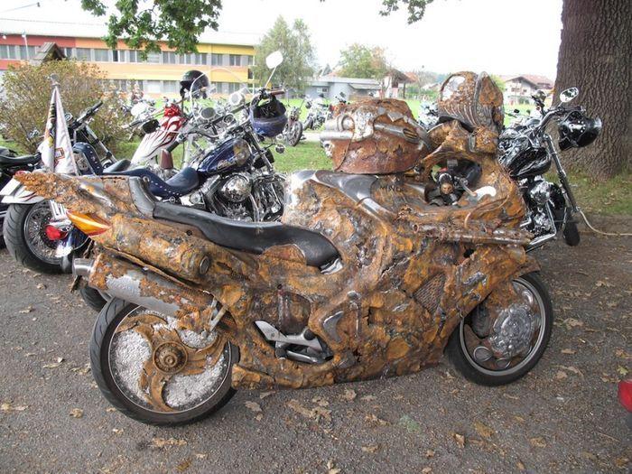 мотоцикл, необычный байк