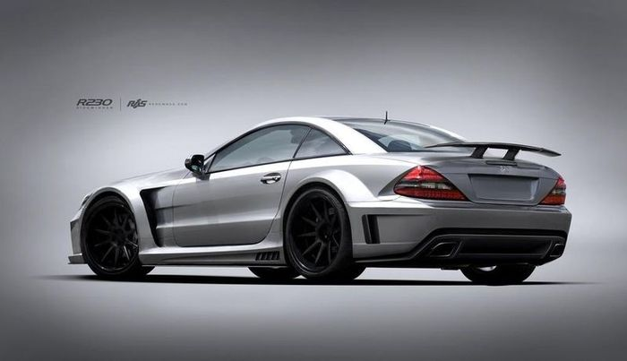 mercedes-benz sl, renown auto style