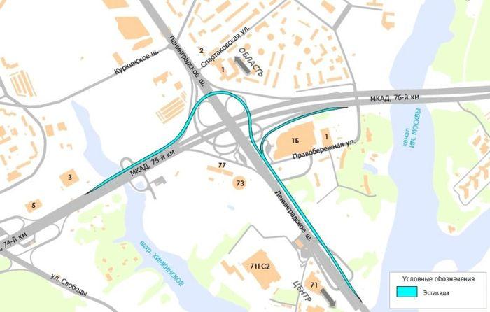собянин, ленинградка, ленинградское шоссе, развязка, открытие дороги