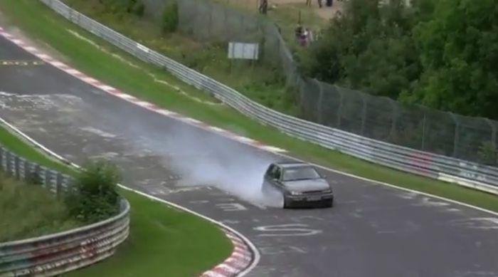 nürburgring, подборка аварий, гоночная трасса