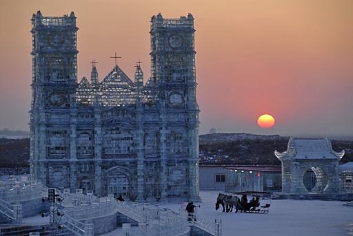 Ледяной и снежный Харбин (31 фото)