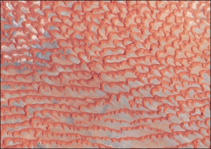 Красные пески пустыни Руб-эль-хали (по-арабски -