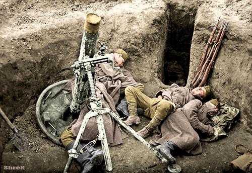 Минутка сна, 1943