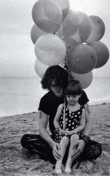 Johnny Depp and his niece Megan