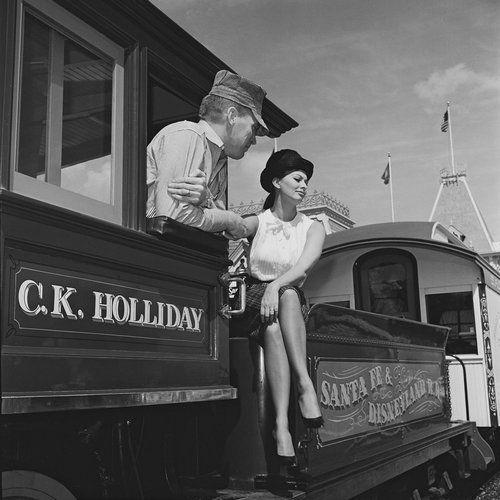 Sophia Loren in Disneyland