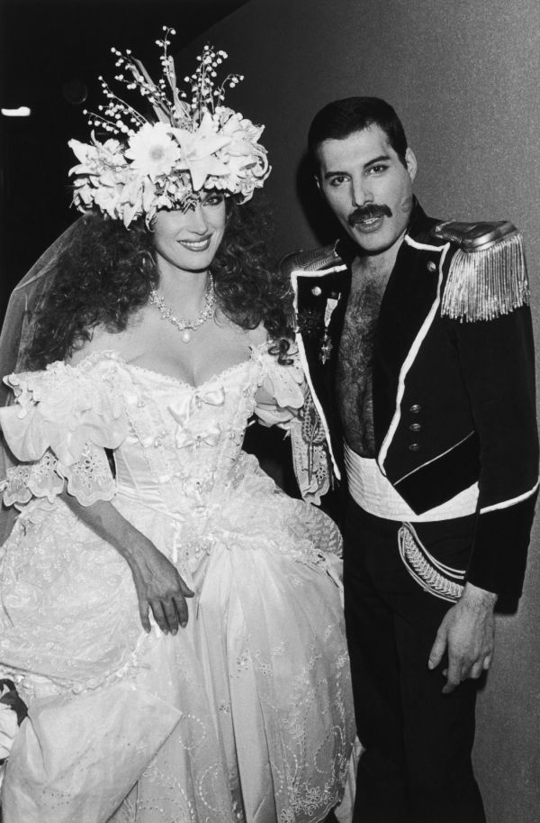 Freddie Mercury and Jane Seymour