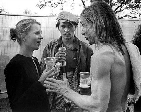 Johnny Depp, Kate Moss, Iggy Pop