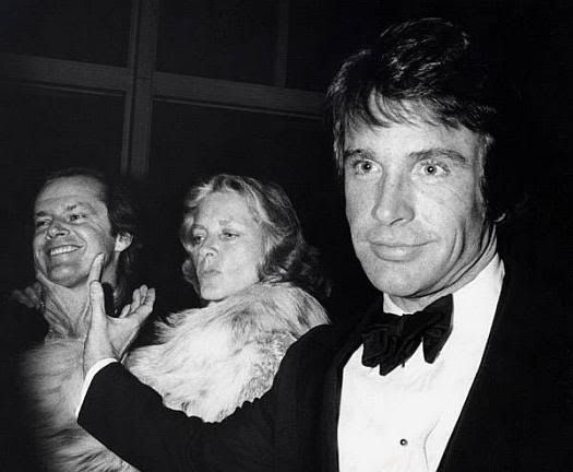 Jack Nicholson, Warren Beatty, Lauren Bacall