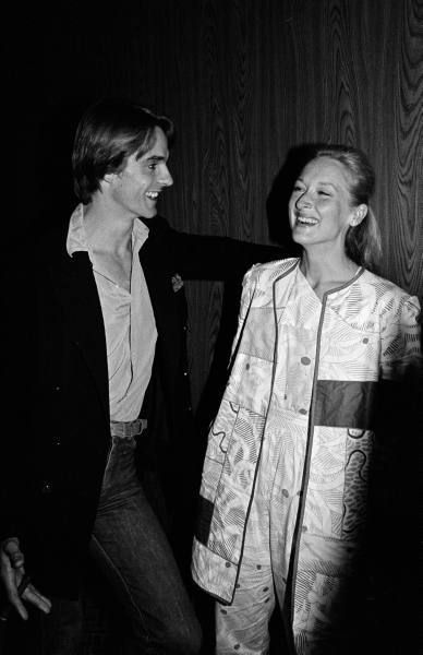 Jeremy Irons and Meryl Streep