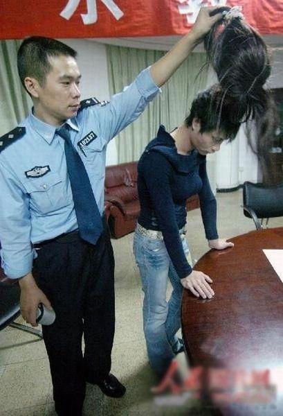 В китае праститутка