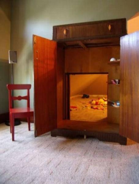 Комнаты с секретами (20 фото)